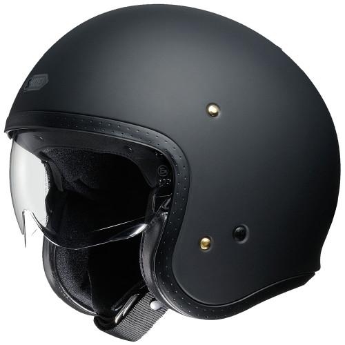 Shoei J.O. Helmet - Matte Black