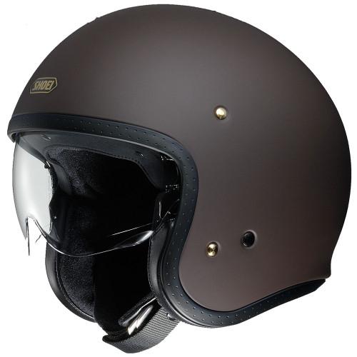 Shoei J.O Helmet - Matte Brown