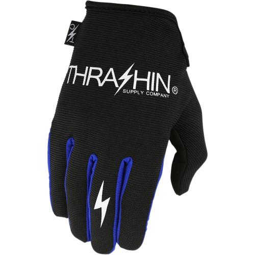 Thrashin Supply Stealth Gloves - Black/Blue