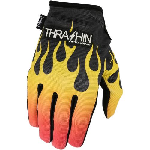 Thrashin Supply Stealth Gloves - Flame