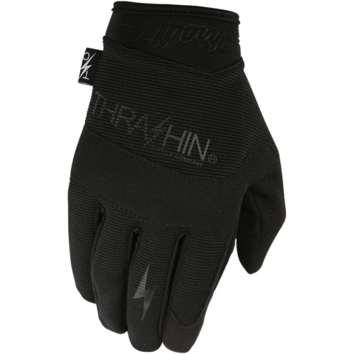 Thrashin Supply Covert Gloves - Black/Black