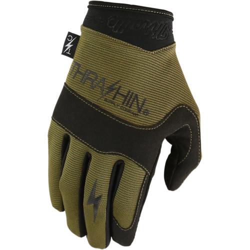 Thrashin Supply Covert Gloves - Tactical Green