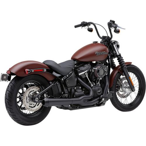Cobra El Diablo 2-Into-1 Exhaust for 2018-2020 Harley Softail Models - Black