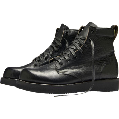 Broken Homme James Leather Boots - Black