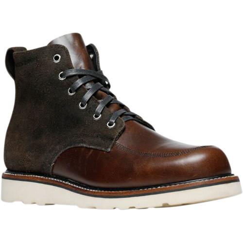 Broken Homme Jaime Leather Boots - Brown