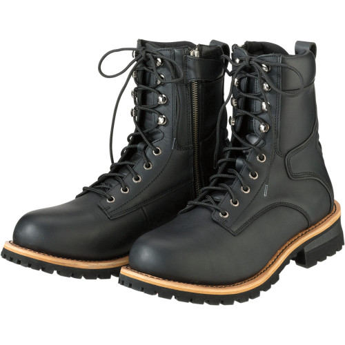Z1R M4 Leather Boots - Black