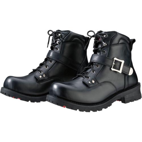 Z1R Trekker Leather Boots - Black