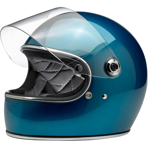 Biltwell Gringo S ECE Helmet - Pacific Blue