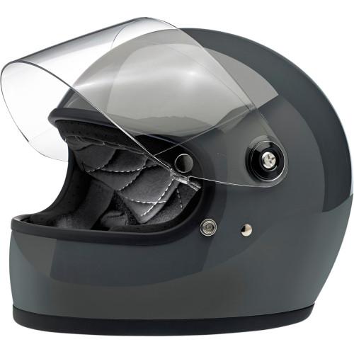 Biltwell Gringo S ECE Helmet - Gloss Storm Grey