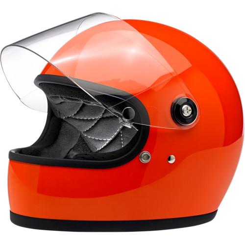 Biltwell Gringo S ECE Helmet - Gloss Hazard Orange