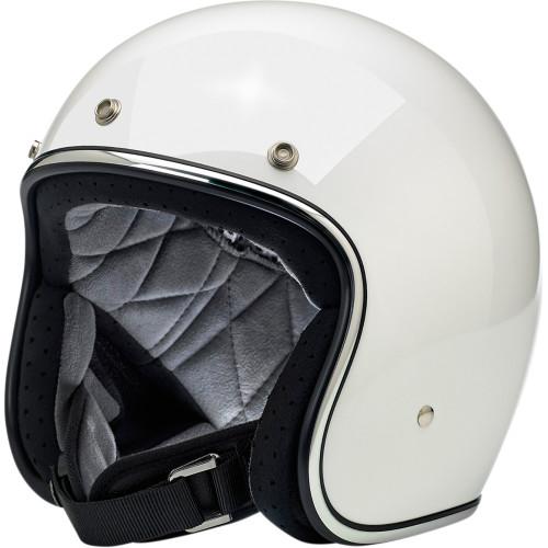 Biltwell Bonanza Helmet - Gloss White