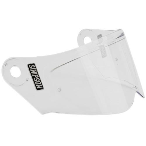 Simpson Mod Bandit Helmet Face Shield - Clear