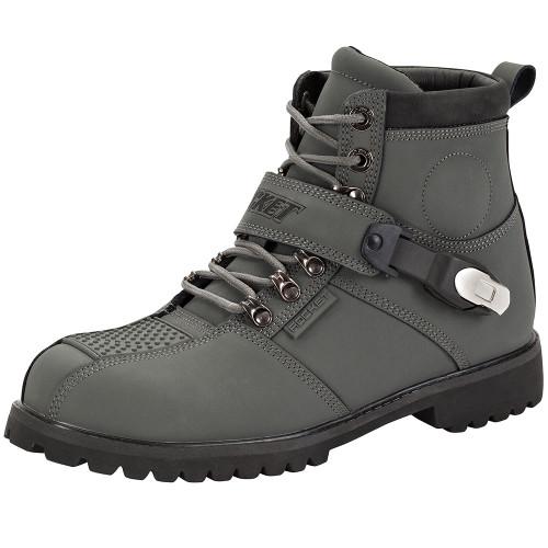 Joe Rocket Big Bang 2.0 Leather Boots - Grey
