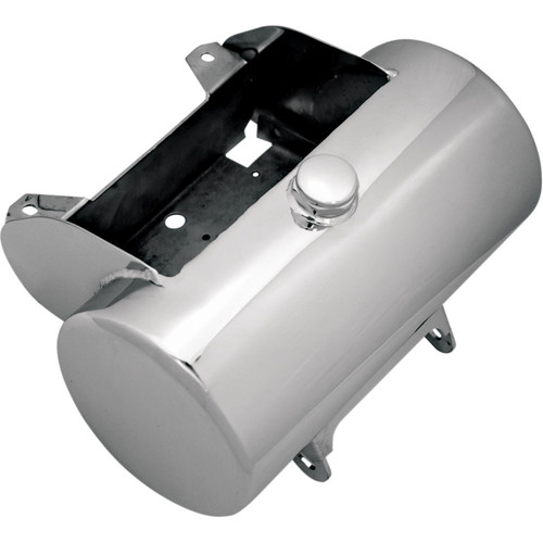 Paughco Custom Round Oil Tank for 1984-1999 Harley Softail