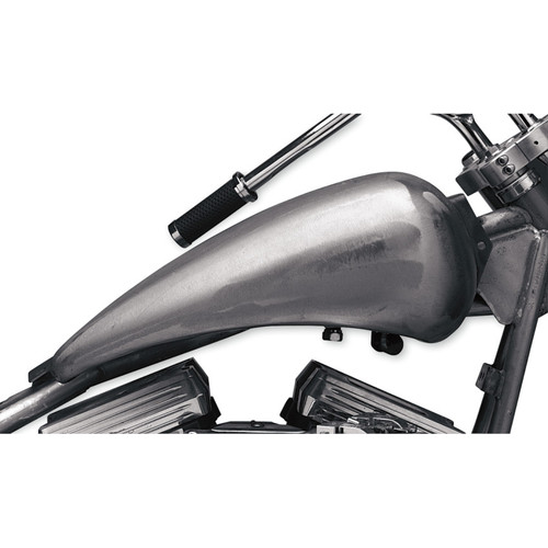 """Drag Specialties One-Piece 2"""" Extended Gas Tank for Harley FXR - Aero Cap"""