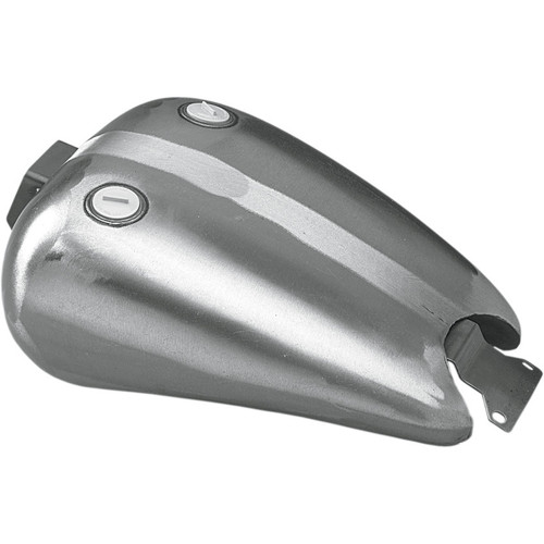 """Drag Specialties One-Piece 2"""" Extended Gas Tank for Harley FXR - Dual Cap"""