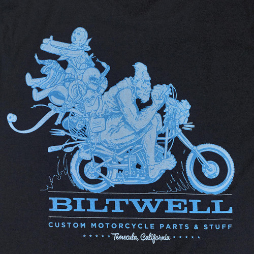 Biltwell Big Foot T-Shirt - Black