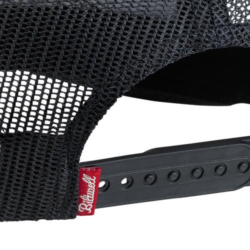 Biltwell Shield Snap Back Hat - Black/Green