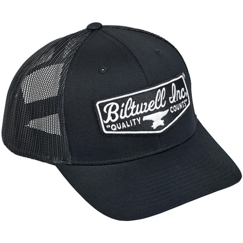Biltwell Shield Snap Back Hat - Black/Green