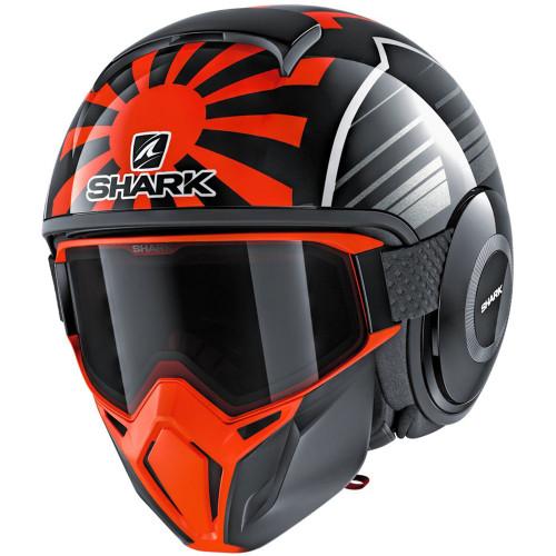 Shark Drak Street Helmet - Zarco Malaysian GP Black/Red