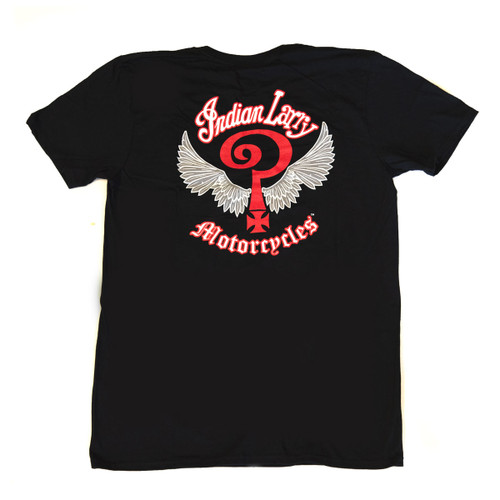 Indian Larry Logo T-Shirt - Black
