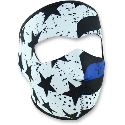 Zan Headgear Thin Blue Line Full Face Mask