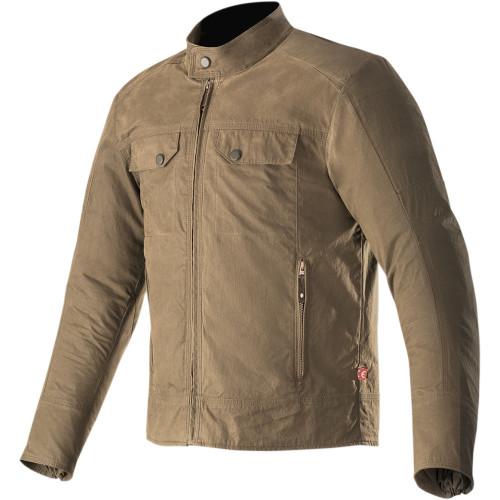 Alpinestars Ray Canvas v2 Jacket - Dark Khaki