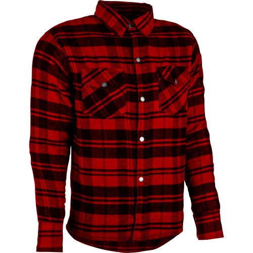 Highway 21 Marksman LE Flannel Shirt - Black/Red