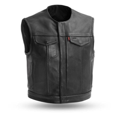 First Mfg. Lowside Custom Leather Vest