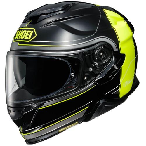 Shoei GT-Air 2 Helmet - Crossbar Black/Hi Viz