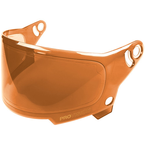 Bell Eliminator Face Shield - Hi Def Orange