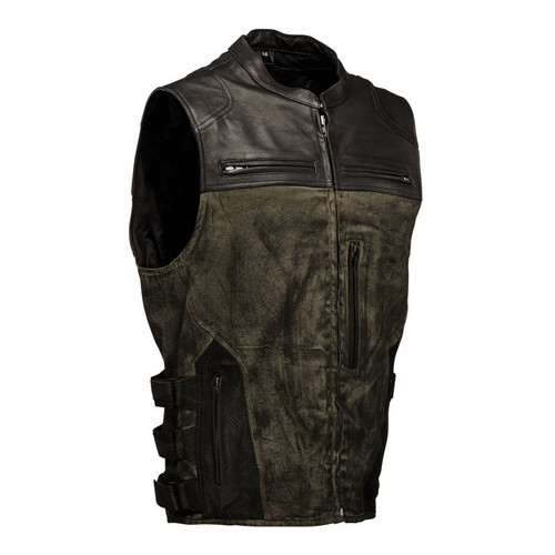 Speed and Strength Tough As Nails Moto Vest - Olive