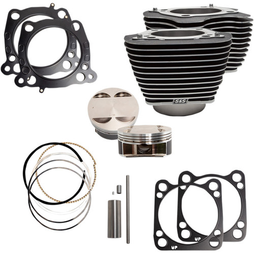 """S&S 128"""" Big Bore Kit for 114"""" M8 Engines - Highlighted"""