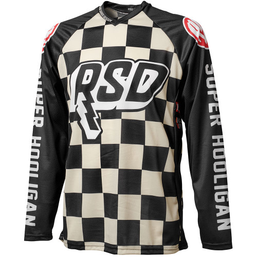 Roland Sands Hooligan Racing Jersey - Checkers