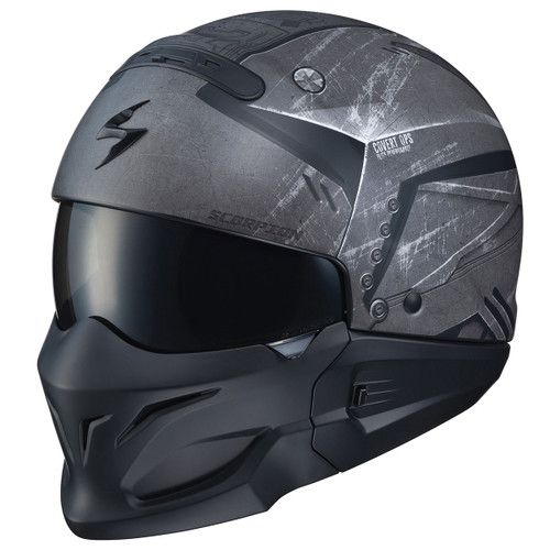 Scorpion Covert Convertible Helmet - Incursion Phantom
