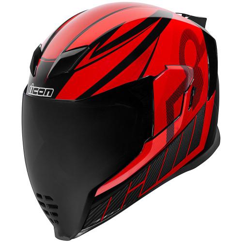 Icon Airflite QB1 Helmet - Red