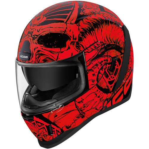 Icon Airform Sacrosanct Helmet - Red