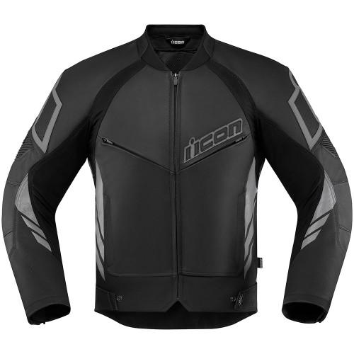 Icon Hypersport 2 Leather/Textile Jacket - Black