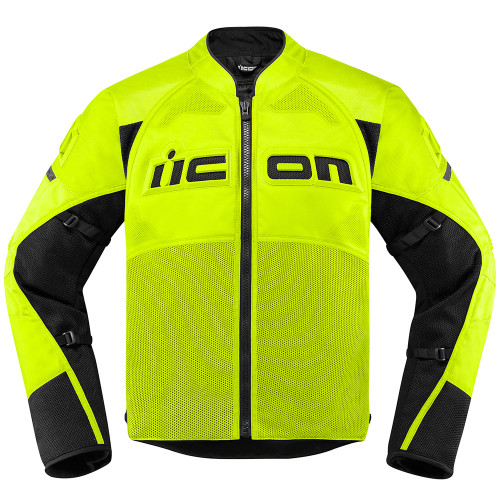 Icon Men's Contra 2 Jacket - Hi Viz