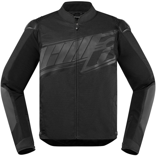 Icon Overlord SB2 Prime Jacket - Stealth Black