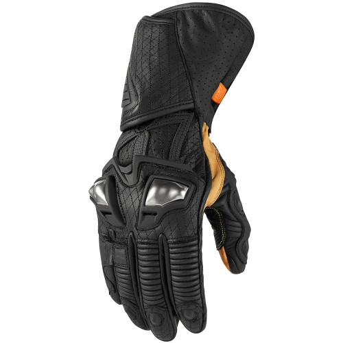 Icon Hypersport GP Gloves - Black