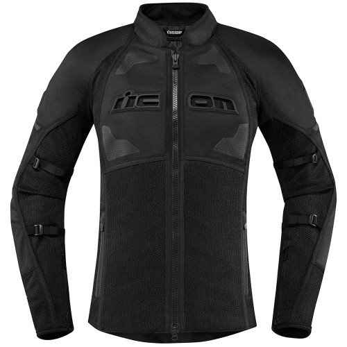 Icon Contra 2 Women's Textile Jacket - Stealth Black