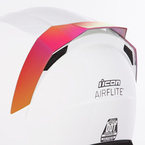 Icon Airflite Rear Spoiler - RST Red