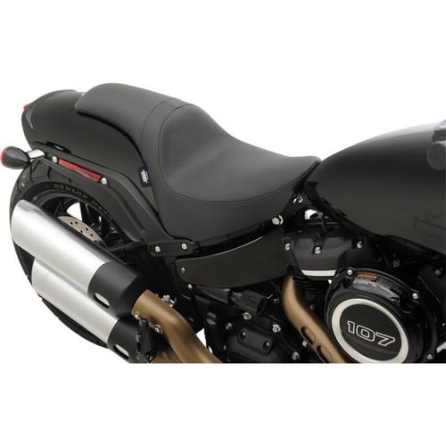 Drag Specialties Predator Seat for 2018-2019 Harley Fat Bob - Solar Reflective