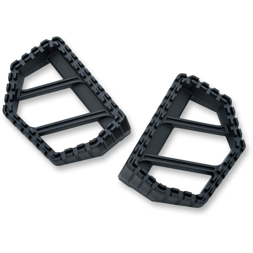Kuryakyn Riot Mini Floorboards - Satin Black