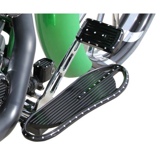 Covingtons Driver Floorboards for Harley - Black