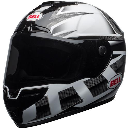 Bell SRT Helmet - Predator Gloss White/Black