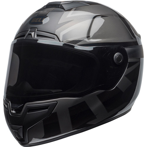 Bell SRT Helmet - Predator Blackout Matte/Gloss Black