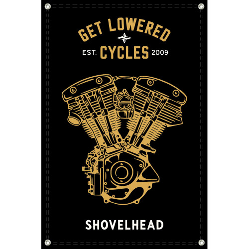 Get Lowered Cycles Harley Shovelhead Shop Banner
