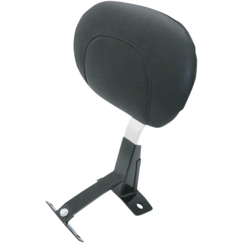 Mustang Driver Backrest Kit for 2009-2020 Harley Touring - Smooth